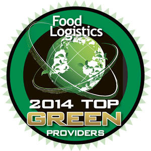 Food Logistics Top Green Provider 2014