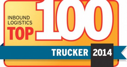 Inbound Logistics Top 100 Trucker Award 2014