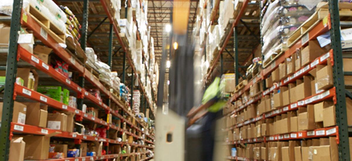 Racking in Warehouse - NFI