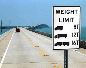 Truck Weight Signage - NFI