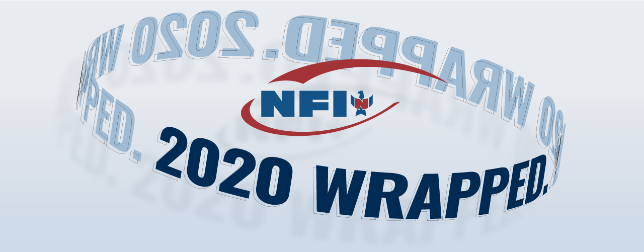 NFI 2020 wrapped graphic