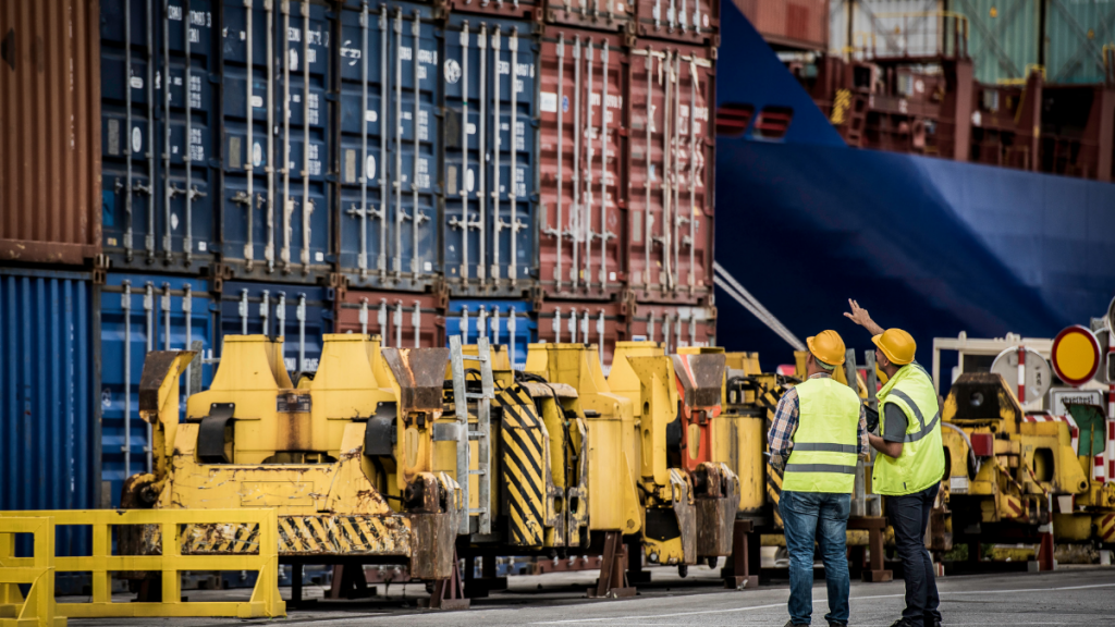 Shippers concerned about backed up shipping containers at port